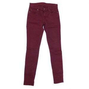 7 FOR ALL MANKIND 'THE SKINNY' JEANS
